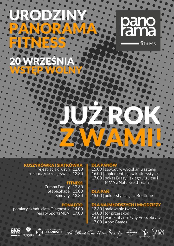 Panorama Fitness Geburstag NOWY